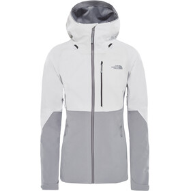 The North Face W's Apex Flex GTX 2.0 Jacket TNF White/Mid Grey